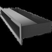 Kratka LUFT czarny 6x40