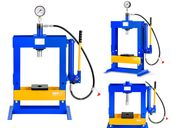 Prasa hydrauliczna - 10 t - 617 bar MSW MSW-WP-10T