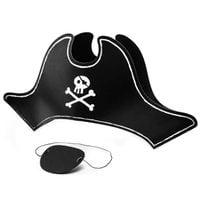 CZAPKA czarna PIRATA pirat z opaską czacha PIRACKA