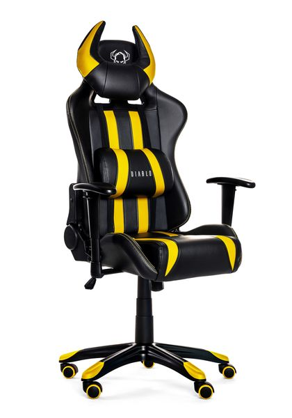 Fotel obrotowy gamingowy kubełkowy dla gracza DIABLO X-ONE ORYGINALNY zdjęcie 5