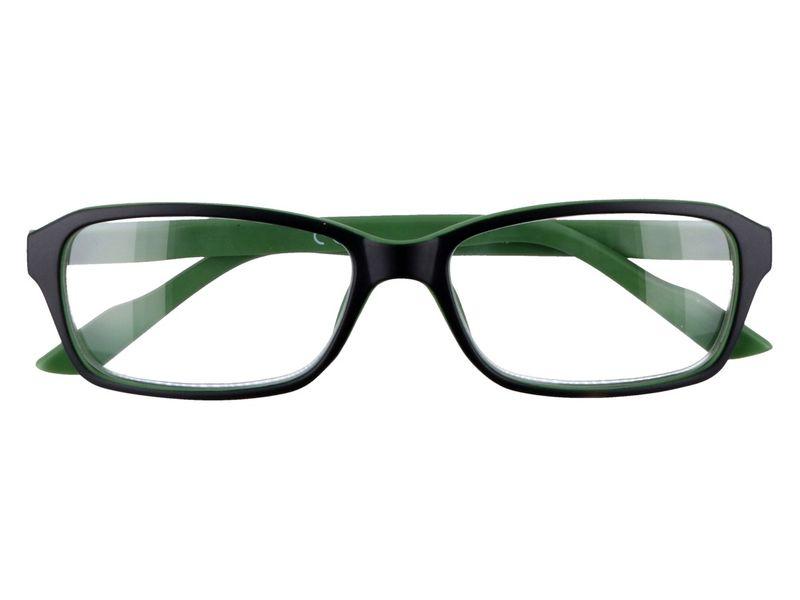 Prostokątne okulary korekcyjne plusy +1.00 zdjęcie 1
