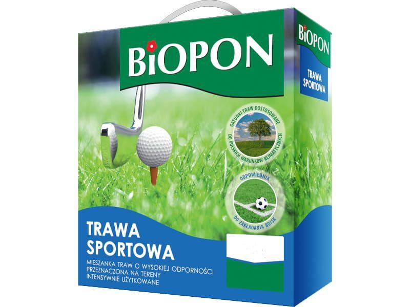 Trawa sportowa nasiona Biopon 0,5kg 20m2 zdjęcie 1