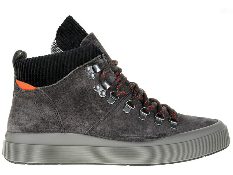 Sneakersy Napapijri Mid Grey Castelrock NA4DZF-H90 - 41 zdjęcie 5