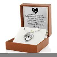 Biżuteria na prezent z grawerem dowolnej dedykacji
