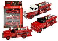 Zestaw Pojazdów Straży Pożarnej 3 Sztuki Resoraki
