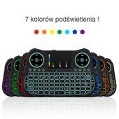 Klawiatura smart tv mini mT08 podświetlana TV Box zdjęcie 2