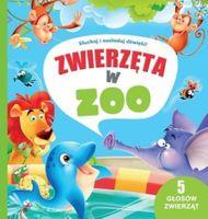 Zwierzęta w zoo słuchaj i naśladuj dla dzieci nowa