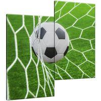 Obraz Na Ścianę 60X60 Piłka W Bramce Zabawa Gra S
