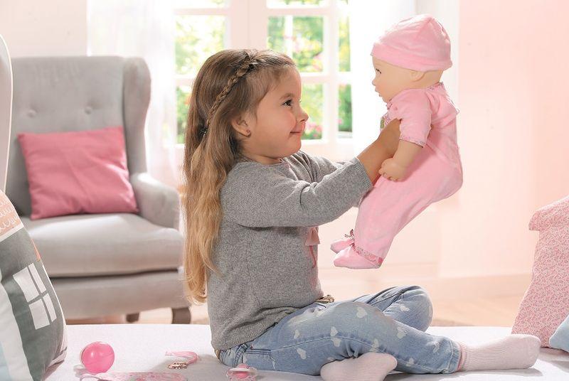 BABY ANNABELL LALKA INTERAKTYWNA 8 FUNKCJI GIRL 794401 zdjęcie 6