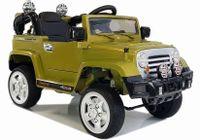 LEAN CARS Auto na Akumulator Jeep JJ245 Zielony