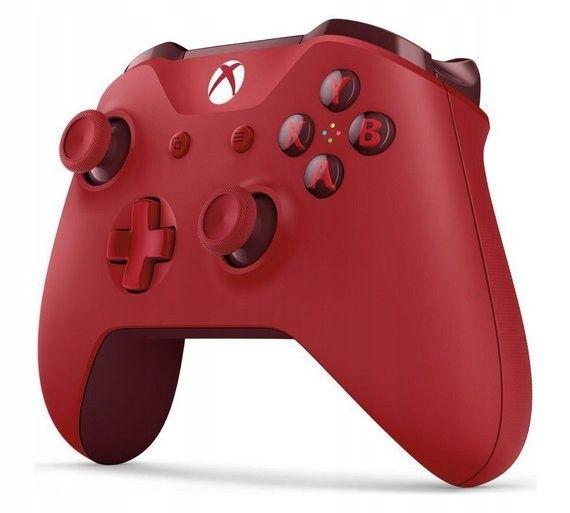 NOWY Oryginalny kontroler Pad Xbox One S Red czerwony zdjęcie 3