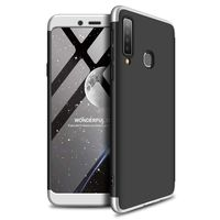 Gkk 360 Protection Case Etui Na Całą Obudowę Przód + Tył Samsung Galaxy A9 2018 A920 Srebrny