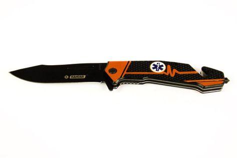 Nóż Ratowniczy Sprężynowy Scyzroyk Kandar N38