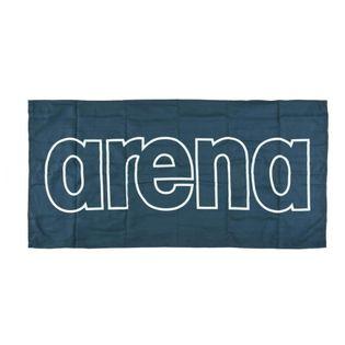 ARENA RĘCZNIK MIKROFIBRA GYM SMART TOWEL NAVY-WHITE 100X50 CM
