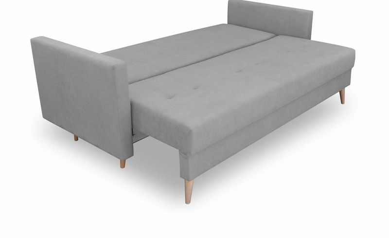 Kanapa rozkładana z funkcją spania, skandynawska sofa Säffle zdjęcie 7