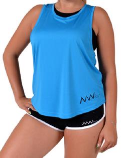 Fitness Woman oversize blue L