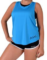 Fitness Woman oversize blue XS