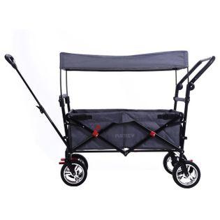 Wózek transportowy plażowy dla dzieci - szary