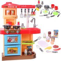 Kuchnia dla dzieci interaktywna z  piekarnikiem i akcesoriami SZEF KUCHNI