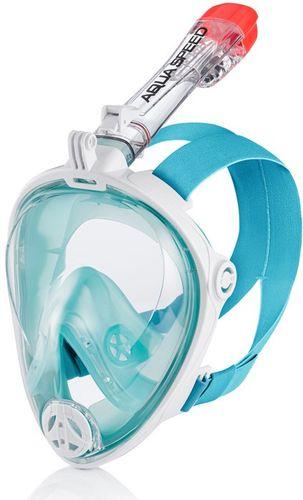 Maska do nurkowania pełnotwarzowa SPECTRA 2.0 Rozmiar - Maski - S/M, Kolor - Spectra 2.0 - 02 - biały / turkus na Arena.pl