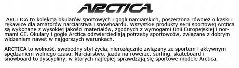 Okulary arctica s-255b lustrzanki sportowe blue zdjęcie 7