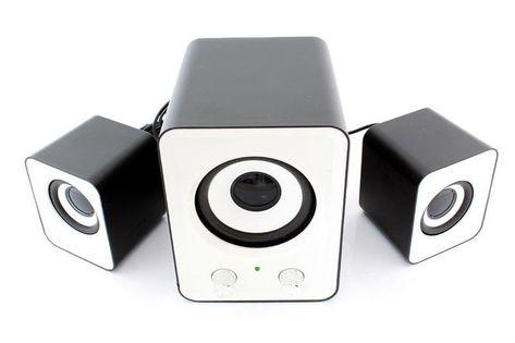 Głośniki Stereo Komputerowe 2.1 Usb Subwoofer 11W