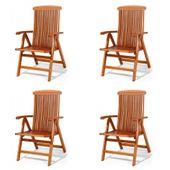 Wysokiej jakości krzesła fotele krzesło z drewna Sydney 5-pozycyjne 4