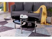 Stolik kawowy ława szklana stoliki szklane salon 110x60 blat górny 8mm zdjęcie 4