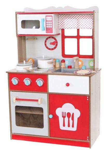 Duza Kuchnia Drewniana Dla Dzieci Z Wyposazeniem Arena Pl