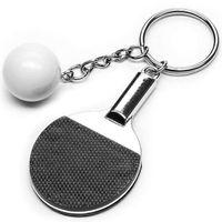 Brelok TENIS STOŁOWY breloczek ping pong metalowy