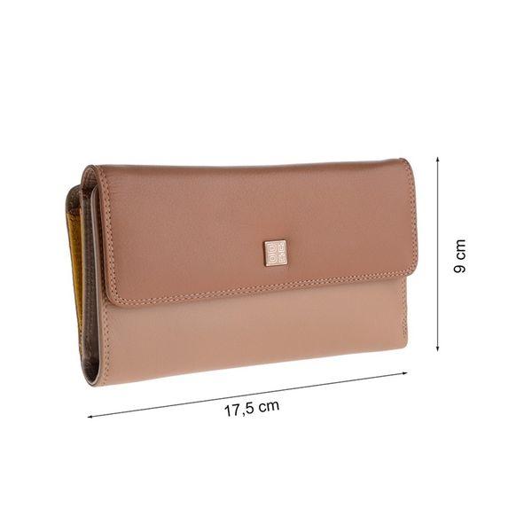 bcb06fb1f632a Duży skórzany portfel damski saszetka DuDu®