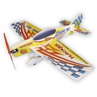 Zoom 4U ARF Yellow - Samolot Hacker Model