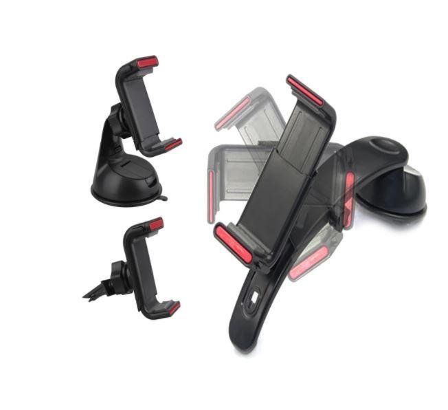 IMOUNT Uchwyt samochodowy na telefon do kokpitu deski szyby kratki zdjęcie 2
