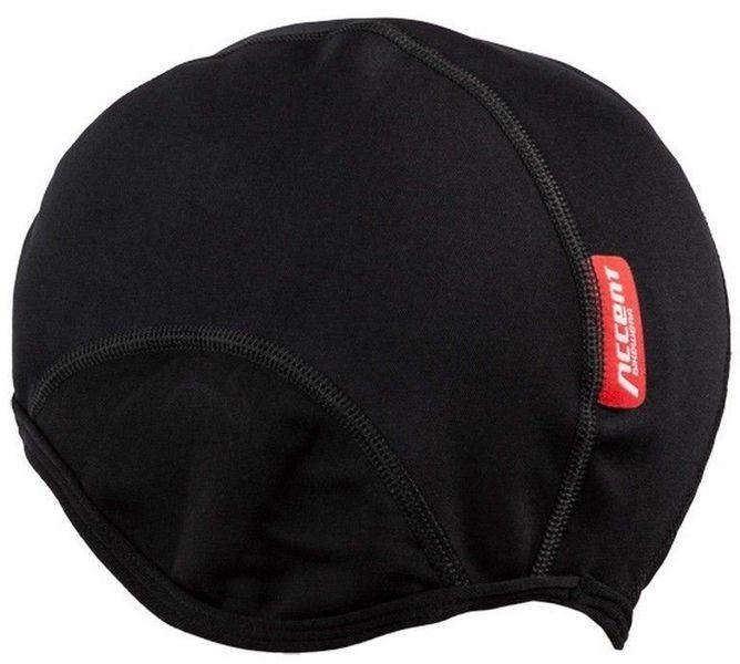 Czapka kolarska Softshell czarna - r. L/XL zdjęcie 2