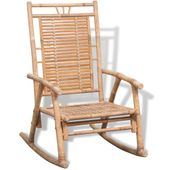 Fotel bujany bambusowy