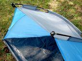 Duży namiot plażowy parawan wiatrochron + zestaw zdjęcie 7