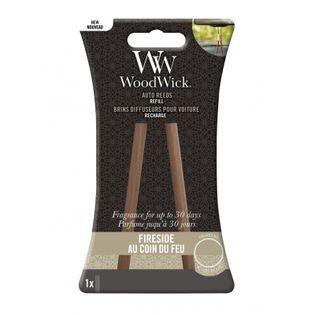 Zapach Do Auta WoodWick - Uzupełniacz Fireside