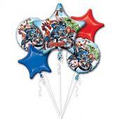 Bukiet balonów foliowych Avengers 5 szt zdjęcie 1