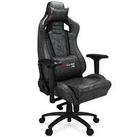 Fotel obrotowy biurowy gamingowy  XANO GRAFITOWY + PODKŁADKA