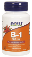 Now vitamina B1 (tiamina) 100mg 100tabl.