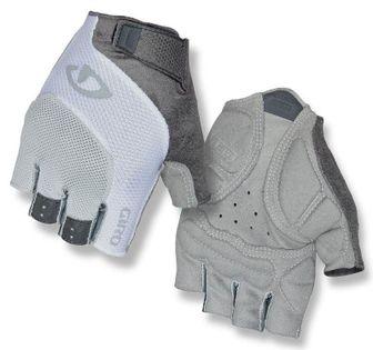 Rękawiczki damskie GIRO TESSA GEL krótki palec grey white roz. XL (obwód dłoni 205-210 mm / dł. dłoni 196-205 mm) (NEW)