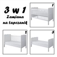 Łóżeczko / Tapczanik ISABEL 3w1 140x70