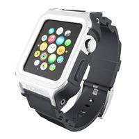 Incipio Octane Strap - Pancerny pasek do Apple Watch 38mm (biały/szary)