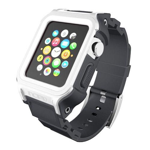 Incipio Octane Strap - Pancerny pasek do Apple Watch 38mm (biały/szary) na Arena.pl