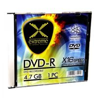 DVD-R EXTREME 4,7GB X16 - SLIM CASE 1 SZT.