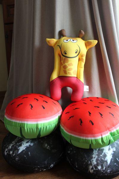Relaksacyjna poduszka 3D na prezent - Żyrafa zdjęcie 6
