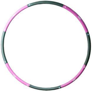Koło hula hop hoop z obciążeniem PRCTZ 100cm 1,2 kg różowe