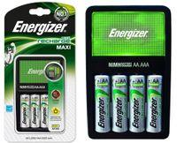 ŁADOWARKA ENERGIZER + 4 AKUMULATORKI R6 AA 2000mAh