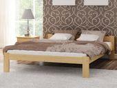 Łóżko drewniane NABA 120x200 + stelaż elastyczny