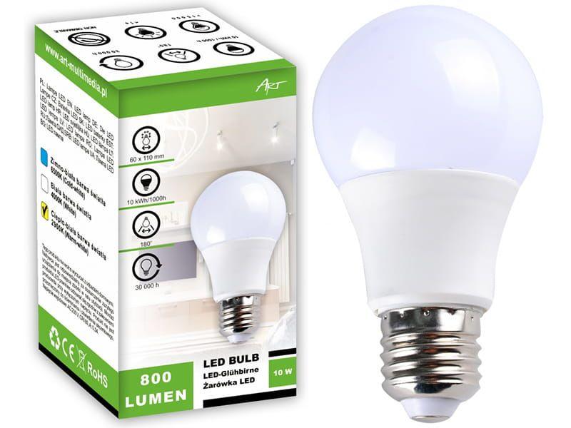 Żarówka LED ART (E27, 10 W, 800 lm, ciepła, 2900 K) na Arena.pl